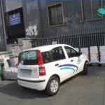 Non c'è scampo per i trasgressori della sosta selvaggia: i vigili urbani multano anche i mezzi dell'Asìa
