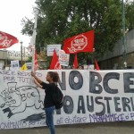 Block BCE: parte il corteo dai Colli Aminei. Napoli Off Limits (FOTO)