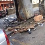 Capodimonte: cassonetti per la raccolta differenziata bruciati