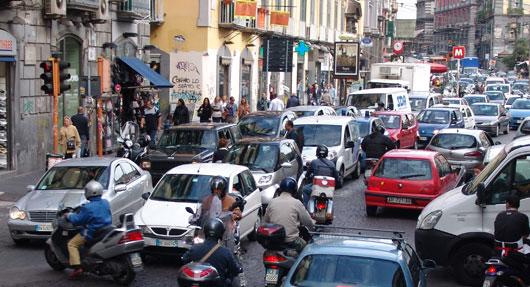La Campania è la regione in cui si guida di più