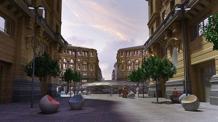 Pedonalizzare Via Duomo : la proposta viaggia su Facebook