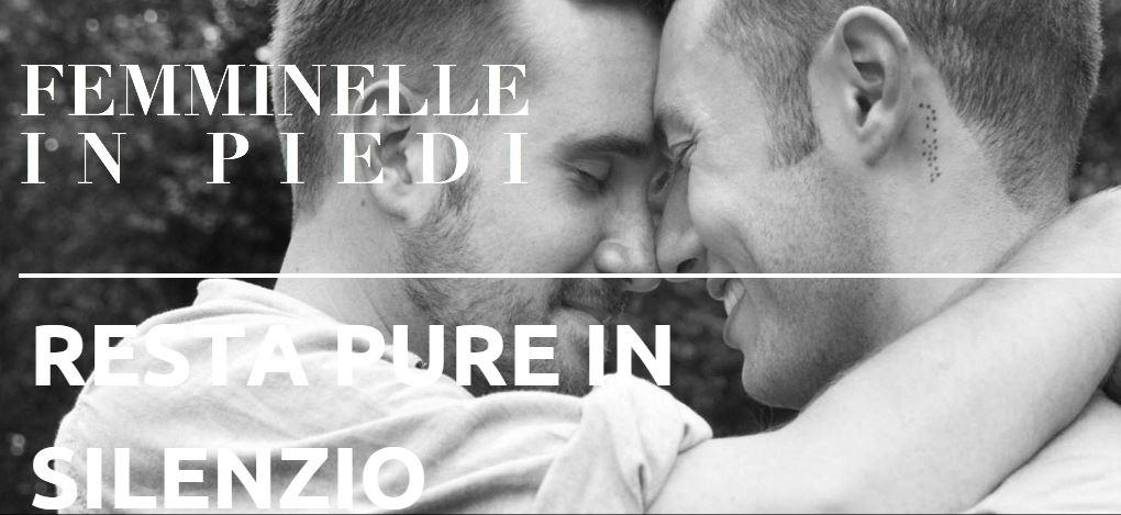 """Omofobia, contro le """"Sentinelle"""" nasce a Napoli """"Femminelle in piedi"""""""