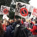 No allo SbloccaItalia: ecco cosa è successo alla manifestazione (FOTO/VIDEO)