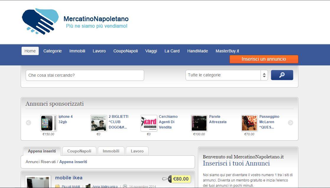 Mercatino Napoletano: lo shopping social dell'usato
