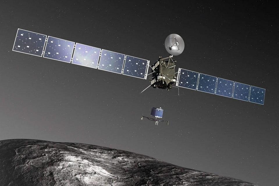 La sonda Rosetta ha un cuore napoletano