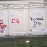 Villa Comunale: nuovi graffiti deturpano gli edifici
