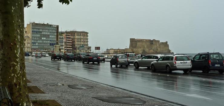 Maltempo in Campania: prorogata l'allerta meteo