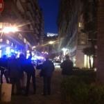Crollo a via Cervantes, un ferito (FOTO)