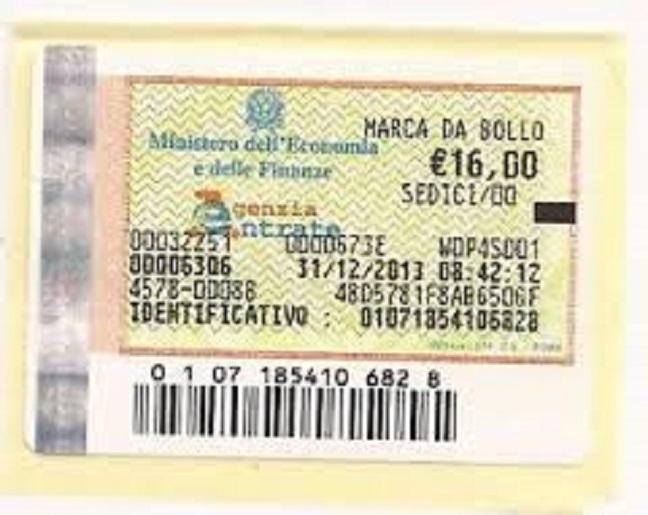 Napoli: 10 notifiche per marche da bollo false