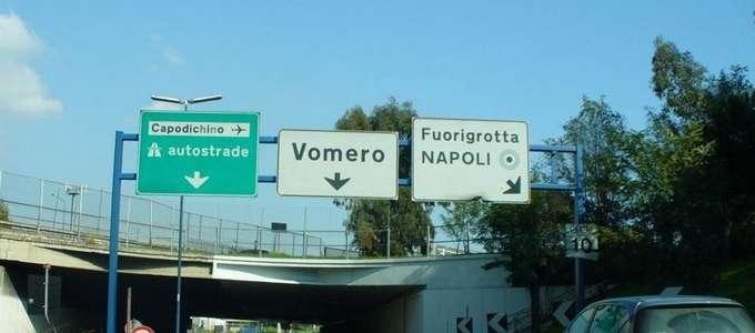 Tangenziale di Napoli gratis da Capodimonte a Fuorigrotta
