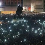 Flash Mob Pino Daniele: diretta da Piazza Plebiscito (VIDEO E FOTO)