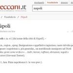 "Enciclopedia Treccani: ""nàpoli"" è una parola offensiva"