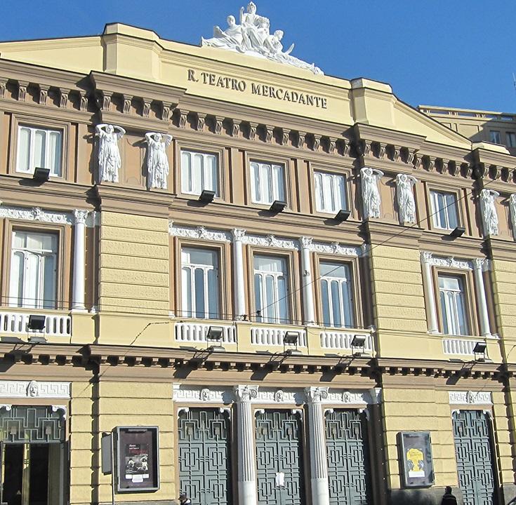 Guardia di finanza negli uffici del Teatro Mercadante