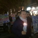 Carmine Balzano: la fiaccolata incontra il sindaco