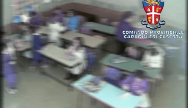 botte e merende rubate maestra arrestata