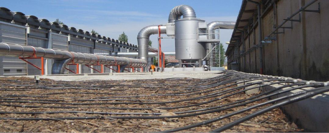 impianto di compostaggio