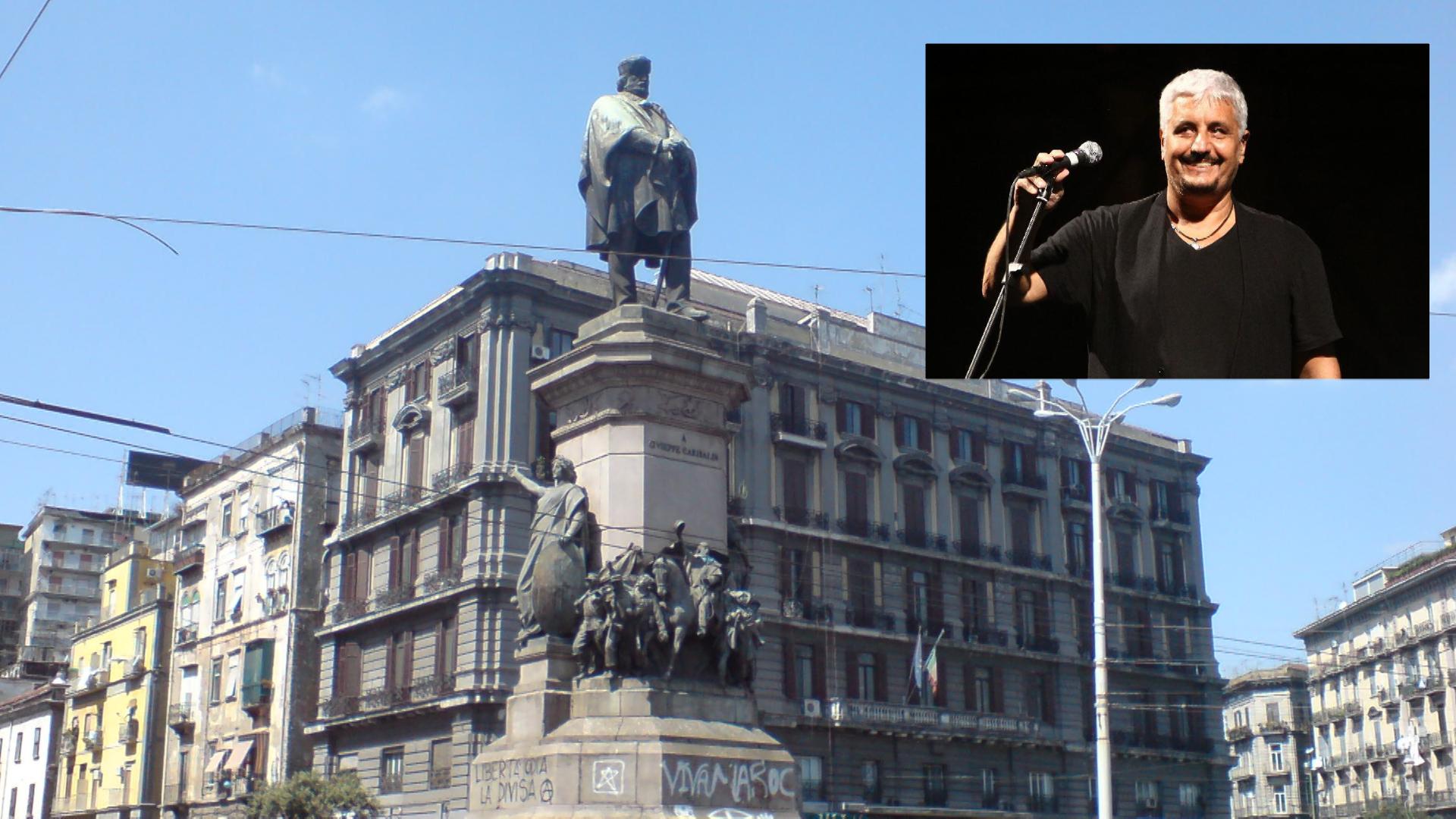La petizione: intitolare piazza Garibaldi a Pino Daniele