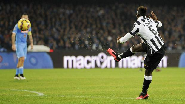 Dopo 14 anni, la Juve batte il Napoli al San Paolo