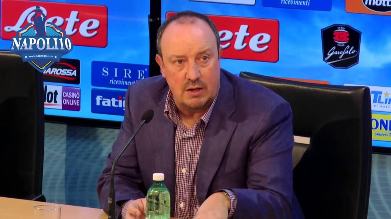 Napoli Juventus Benitez conferenza stampa