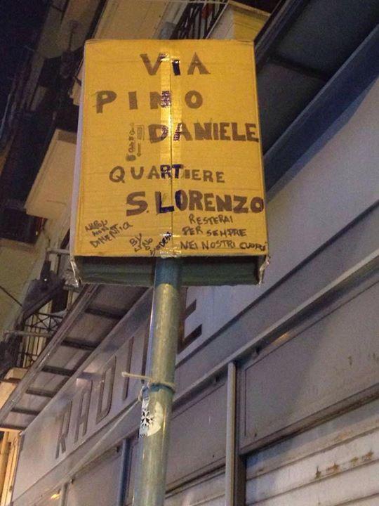 via Pino Daniele