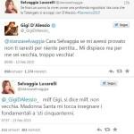 Selvaggia Lucarelli contro Gigi D'Alessio: rissa hot su Twitter (FOTO)