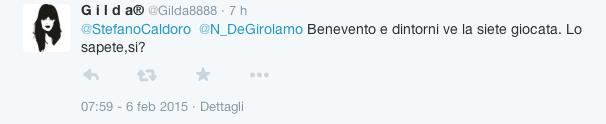 Stefano Caldoro si candida alla Regione - reazioni Twitter1