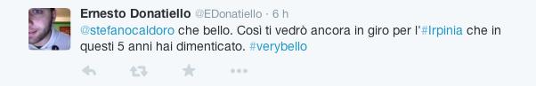 Stefano Caldoro si candida alla Regione - reazioni Twitter2