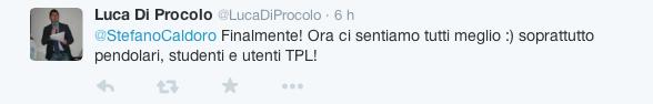 Stefano Caldoro si candida alla Regione - reazioni Twitter3