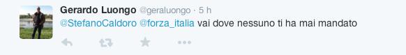 Stefano Caldoro si candida alla Regione - reazioni Twitter4