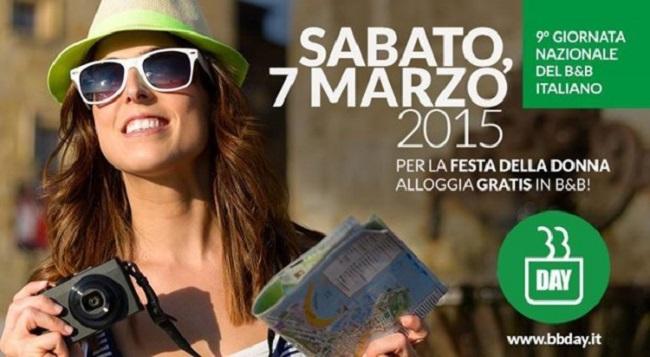 B&B Day, in tutta Italia si dorme gratis il 7 marzo 2015