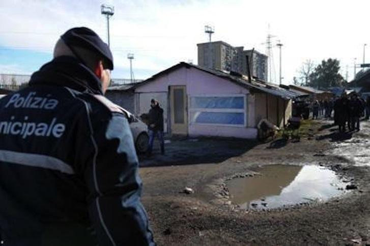 campo rom di scampia