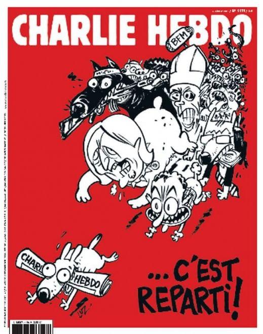Charlie Hebdo, mercoledì il ritorno in edicola