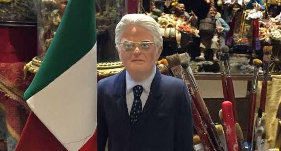 Sergio Mattarella: arriva la statuina a San Gregorio Armeno
