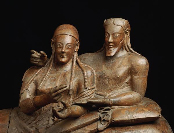 Il Museo archeologico Etrusco a Napoli