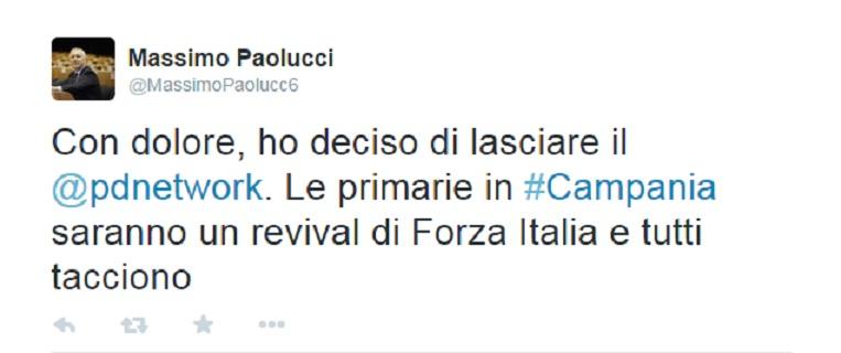 Pd nel caos, Massimo Paolucci lascia il partito