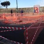 Via Manzoni: una voragine preoccupa i residenti