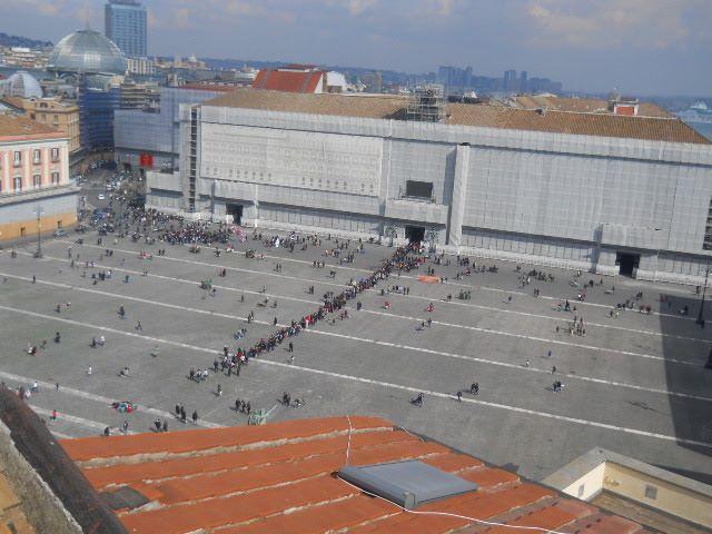 Palazzo Reale: fila chilometrica per la Domenica al Museo