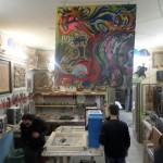 Miniera ai Quartieri Spagnoli: un laboratorio d'arte (FOTO)