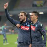Napoli Dinamo Mosca Callejon Higuain