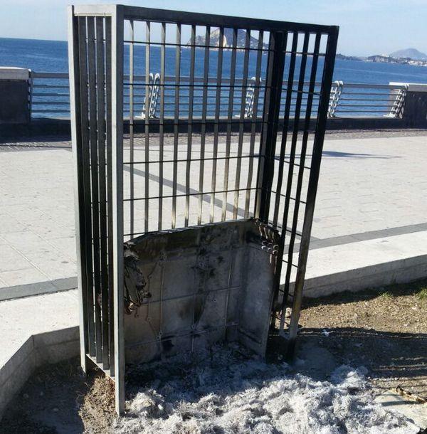 Ztl a Pozzuoli: brucia la centralina per atto intimidatorio