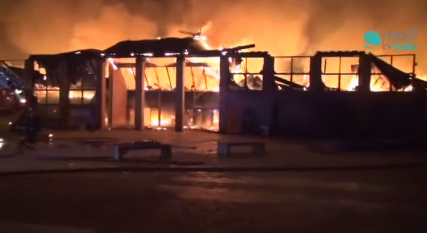 Incendio Città della Scienza: niente manette per il custode