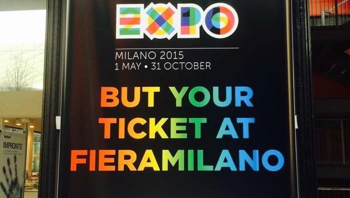 """Expo Milano 2015: rimandati in inglese gli organizzatori """"BuT your ticket?"""""""