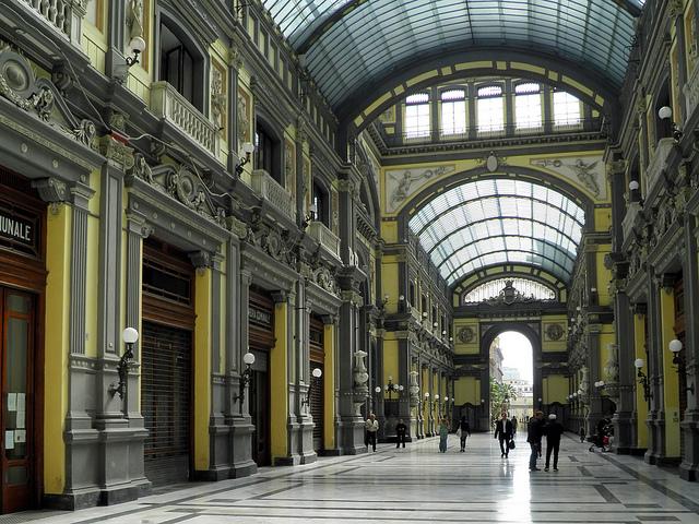 Galleria Principe, le proposte del Comune di Napoli