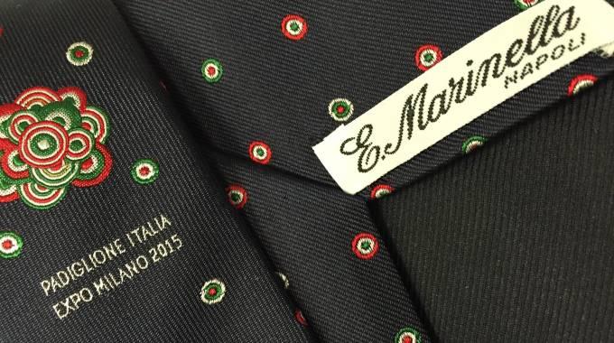 Marinella cravatta Expo Milano 2015