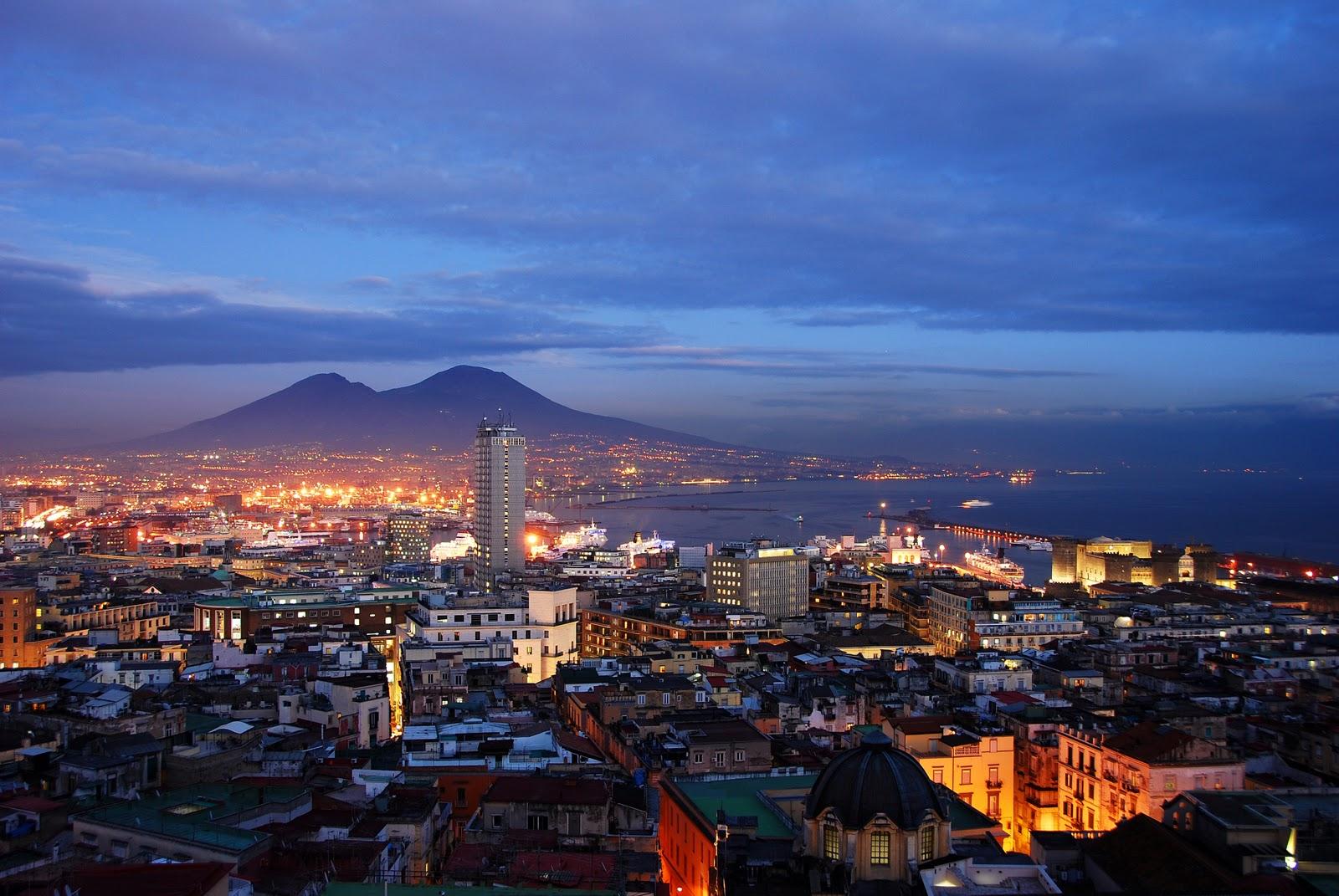 Città di Napoli e Catania le più amate dai turisti