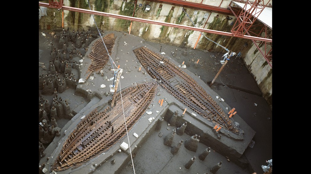 Neapolis romana, riafforano altre due imbarcazioni