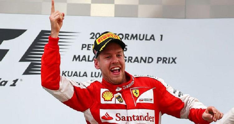 Sebastian Vettel, un napoletano tedesco, vince suo primo GP in Ferrari