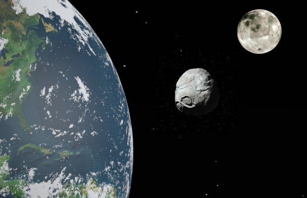 Cruithne, la seconda luna della Terra