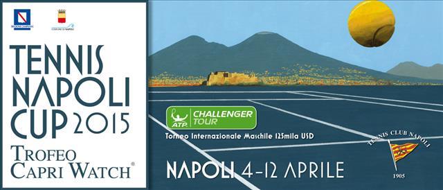 Torneo di napoli 2015: al via il 4 aprile il 'Trofeo Capri Watch'