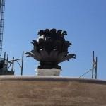 Fontana del Carciofo: eccola pronta all'inaugurazione (FOTO)